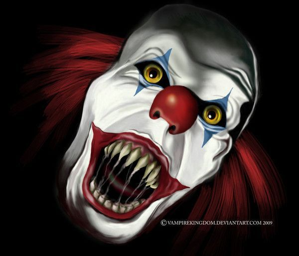 Clown Mechant Dessin