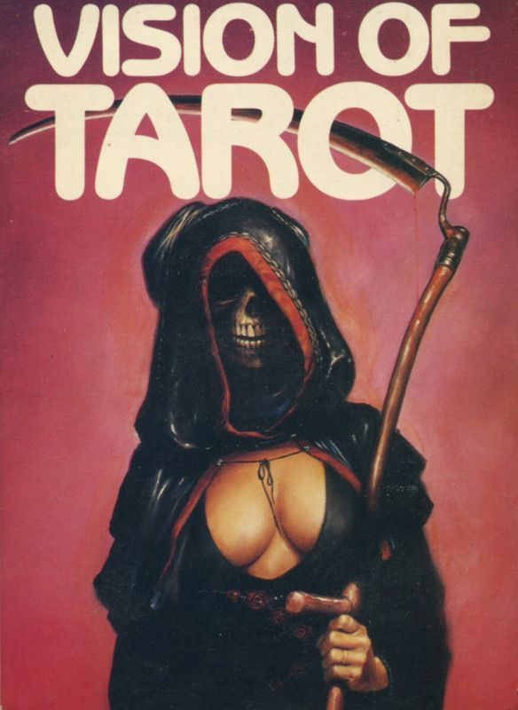 Vision Of Tarot 1982. Cover illustration by Melvyn Grant.